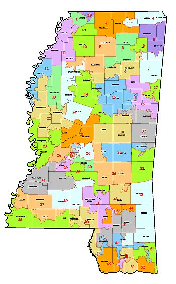 State of Mississippi Senate Plan As Adopted on 3-20-02
